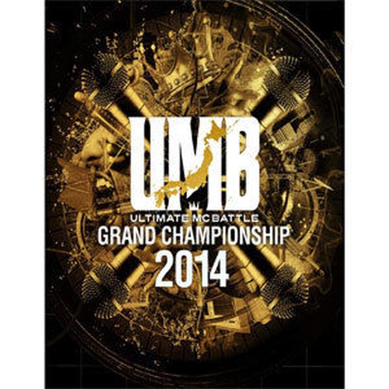 ULTIMATE MC BATTLE / GRAND CHAMPION SHIP 2014 [DVD]