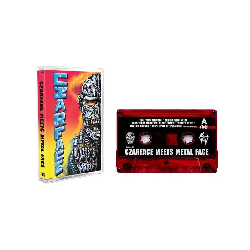 MF DOOM & CZARFACE / CZARFACE MEETS METAL FACE (VOCAL) [TAPE]