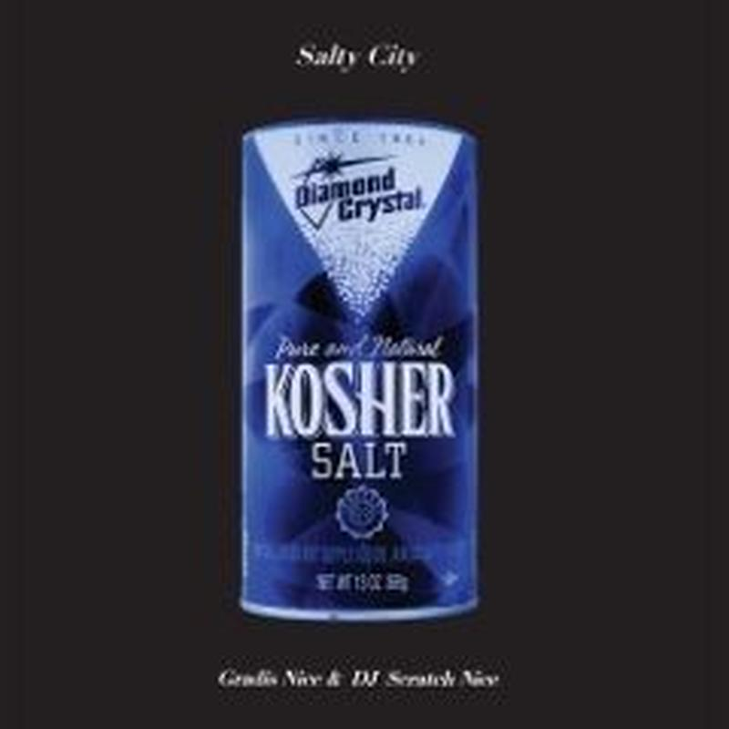Gradis Nice & DJ Scratch Nice / Salty City [LP]