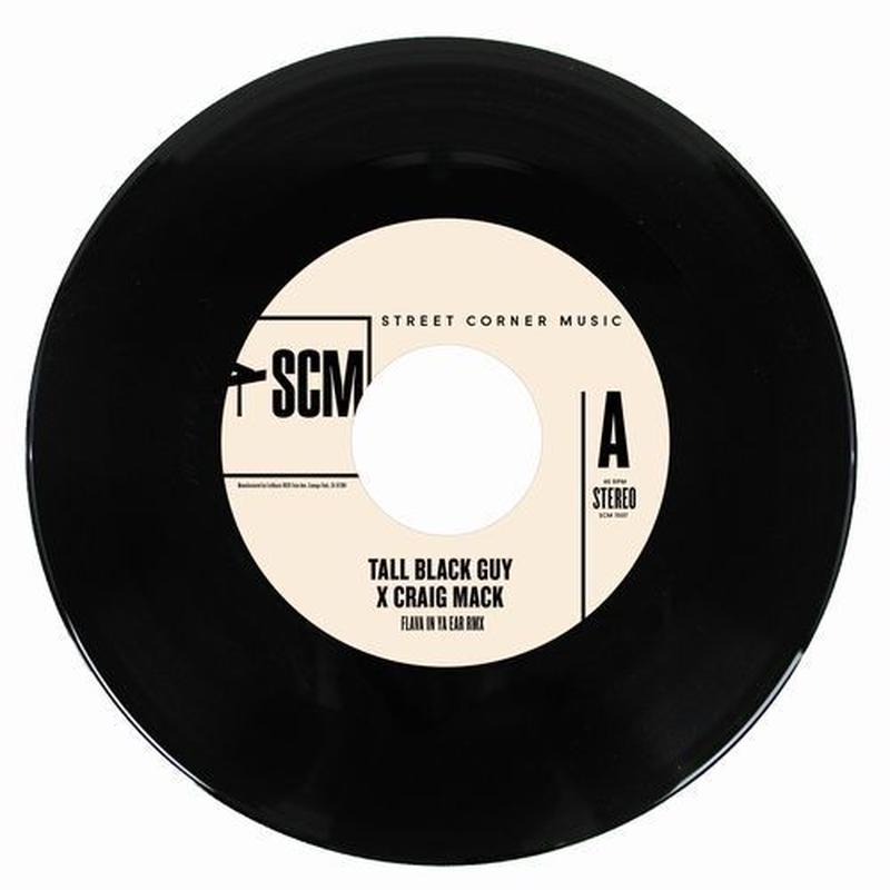 TALL BLACK GUY X CRAIG MACK / FLAVA IN YA EAR REMIX [7inch]