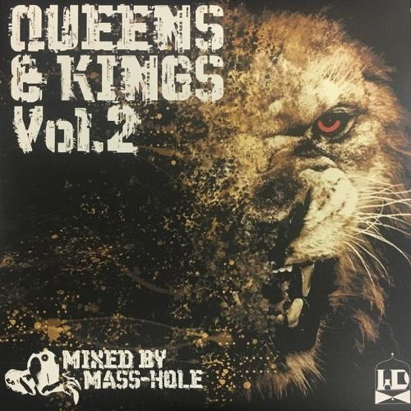 MASS-HOLE / QUEENS & KINGS VOL.2 [MIX CD]