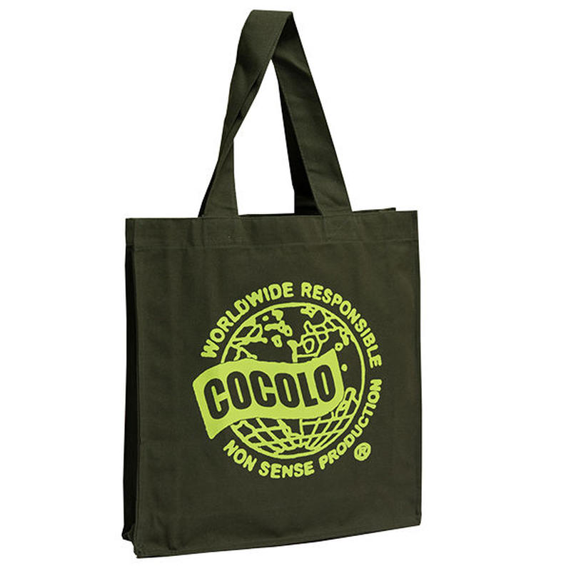WORLD WIDE BIG TOTE BAG(OLIVE)