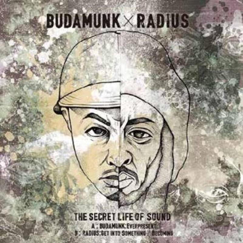 BUDAMUNK / RADIUS - THE SECRET LIFE OF SOUND [7inch]
