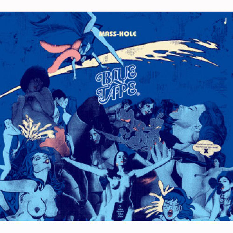MASS-HOLE / BLUE TAPE [CD]