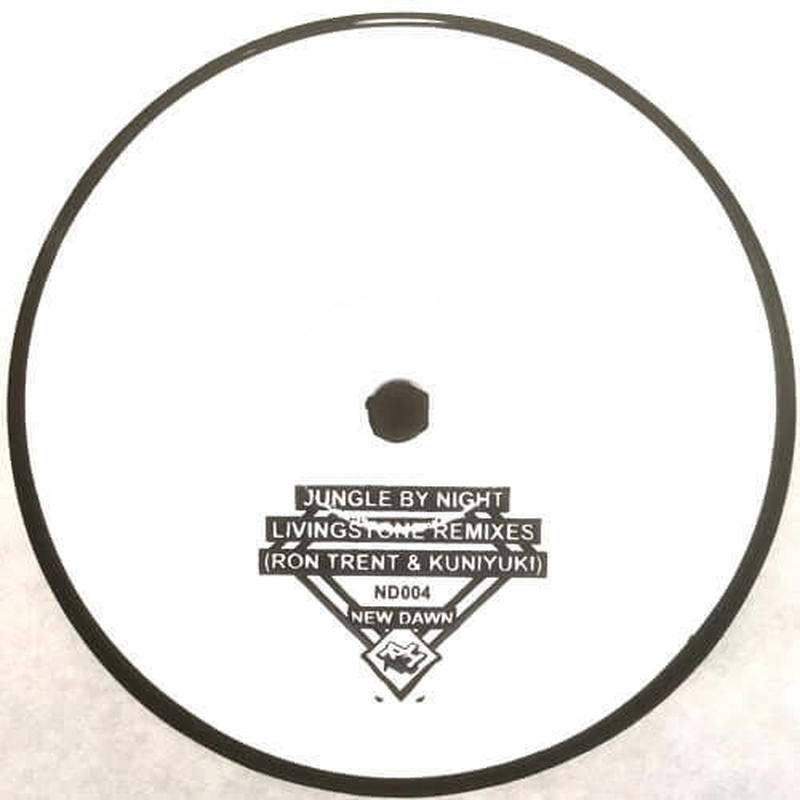 JUNGLE BY NIGHT / LIVINGSTONE REMIXES [12inch]