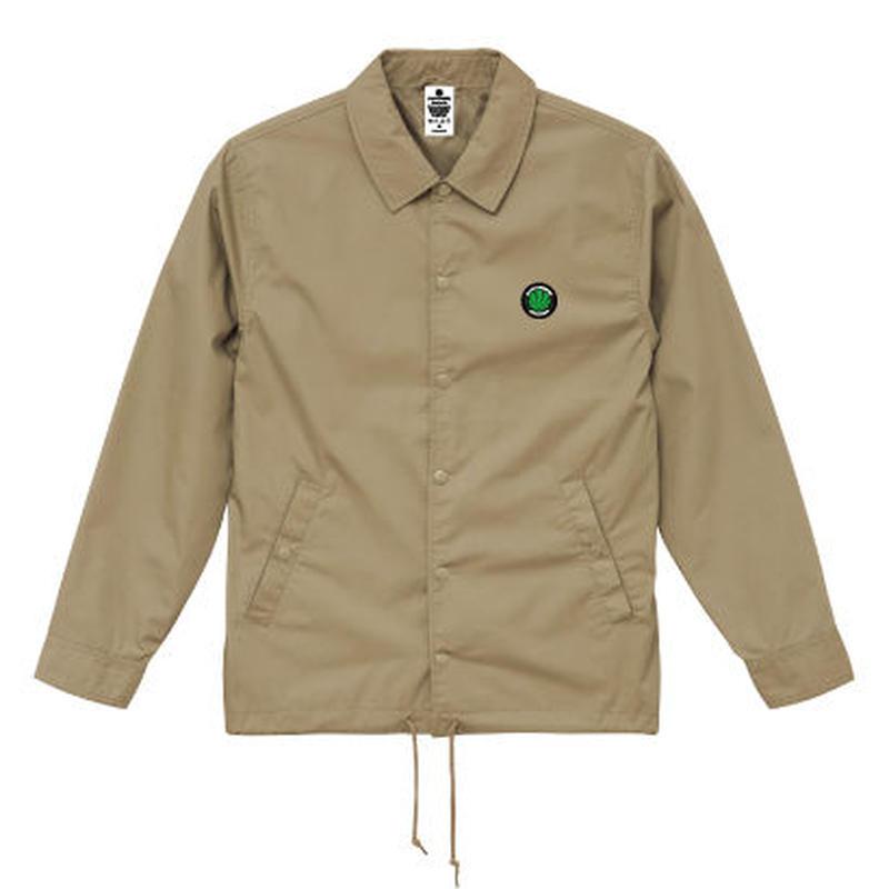 BLACKSMOKERS coach jacket (BEIGE)