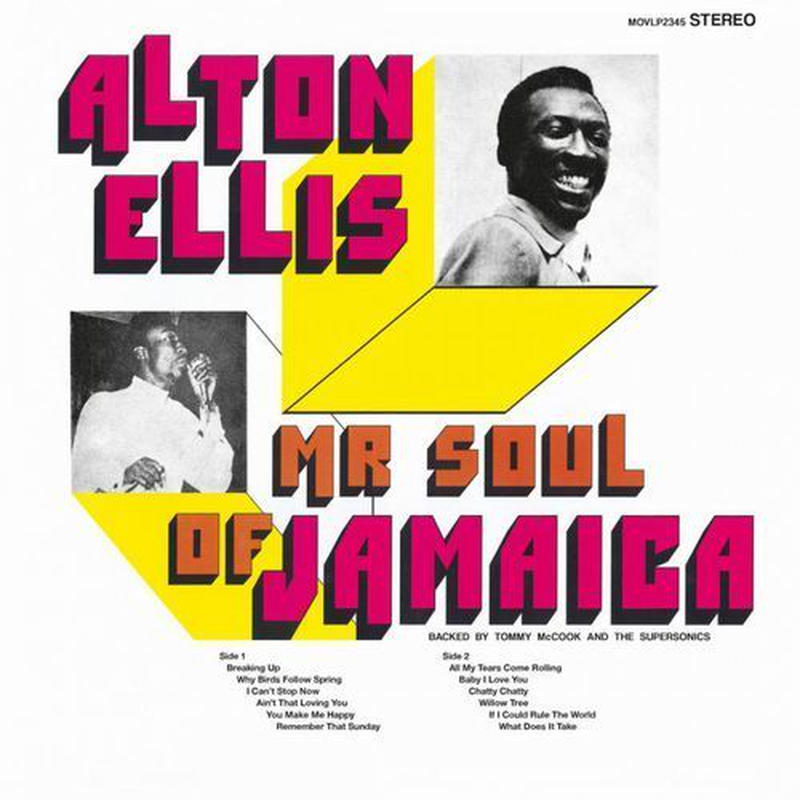 Alton Ellis / Mr. Soul Of Jamaica [LP]