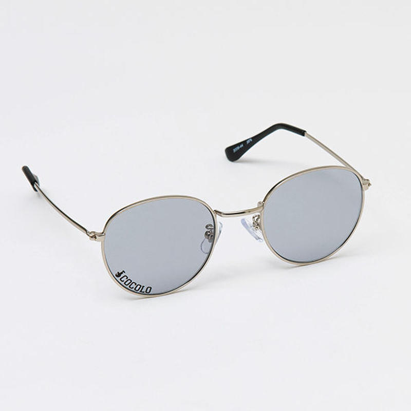 ROUND TOY SUNGLASS(SILVER/SMOKE)