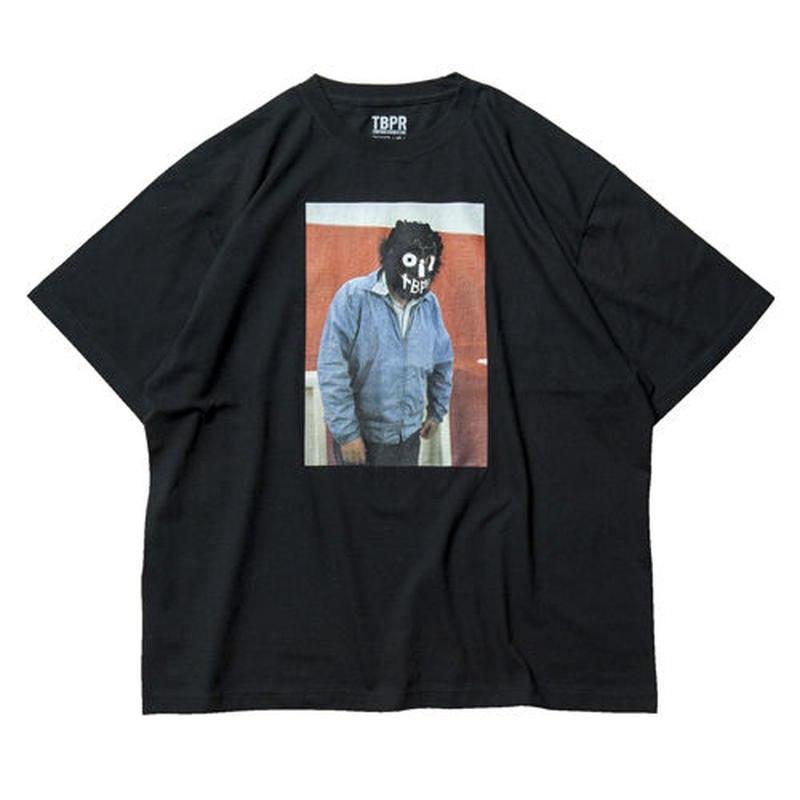 6月発売 / TIGHTBOOTH x OILWORKS - KUBRICK T-SHIRT BLACK SHIRT
