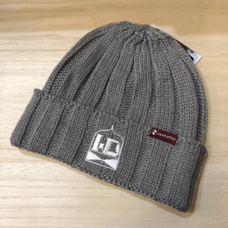 WDsounds knit cap(gray)