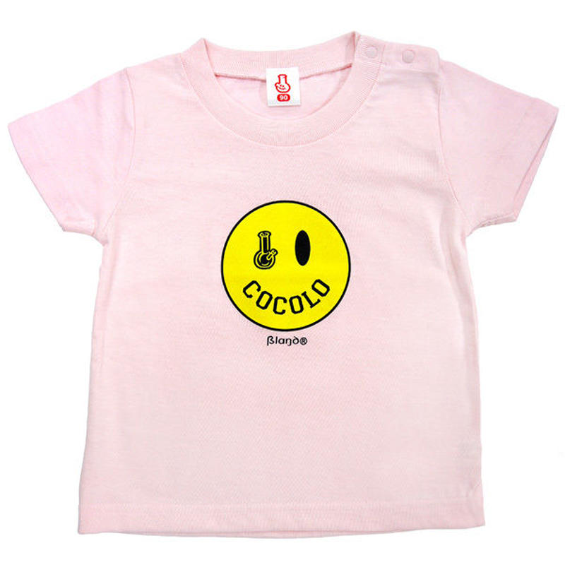 SMILEY BONG TEE (Lt-PINK) KIDSサイズ