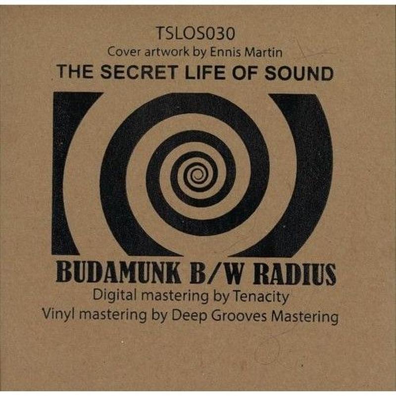 Budamunk / Radius SPLT The SECRET [7INCH]