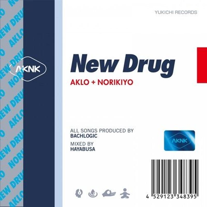 7/10 - AKLO+NORIKIYO / New Drug [CD]