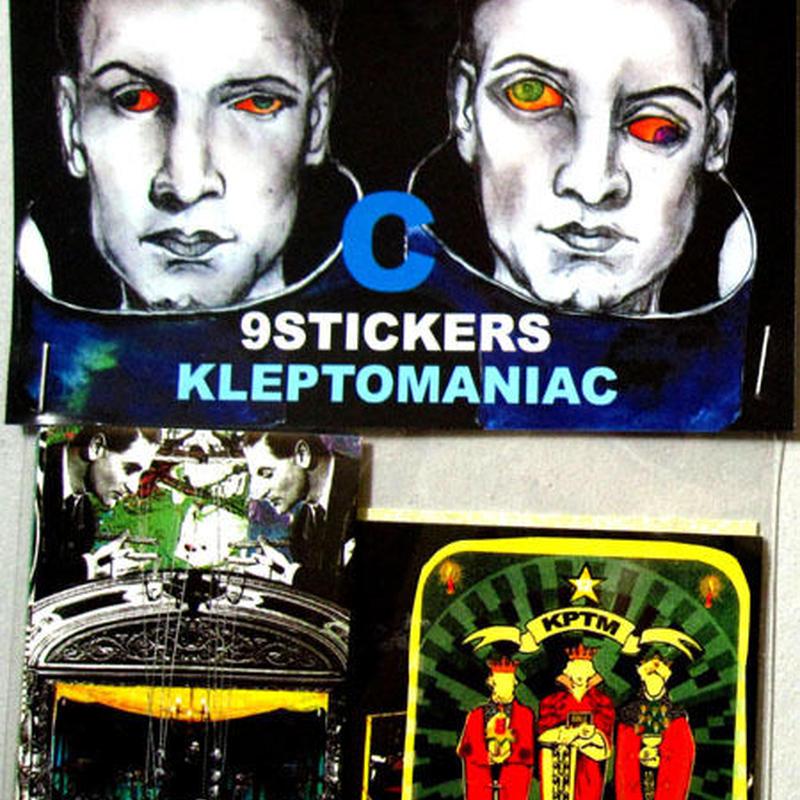 KLEPTOMANIAC/ 9 STICKERS TYPE C [STICKER]