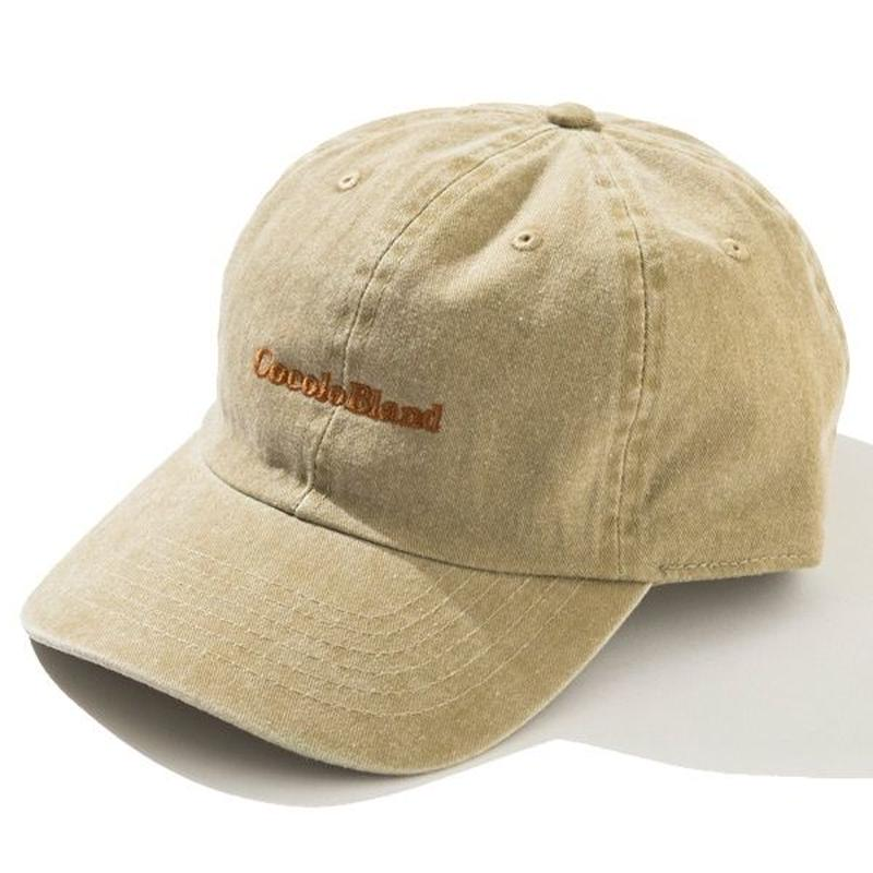 made in Cocolo Bland Pigment Dyed CAP (BEIGE)