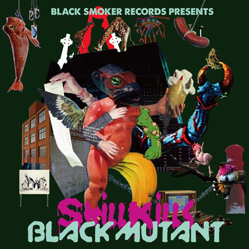 skillkills / BLACK MUTANT [CD]