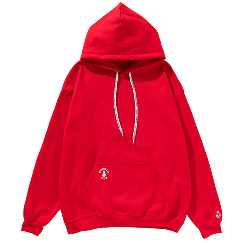 BONG SHOELACE HOODIE(RED)