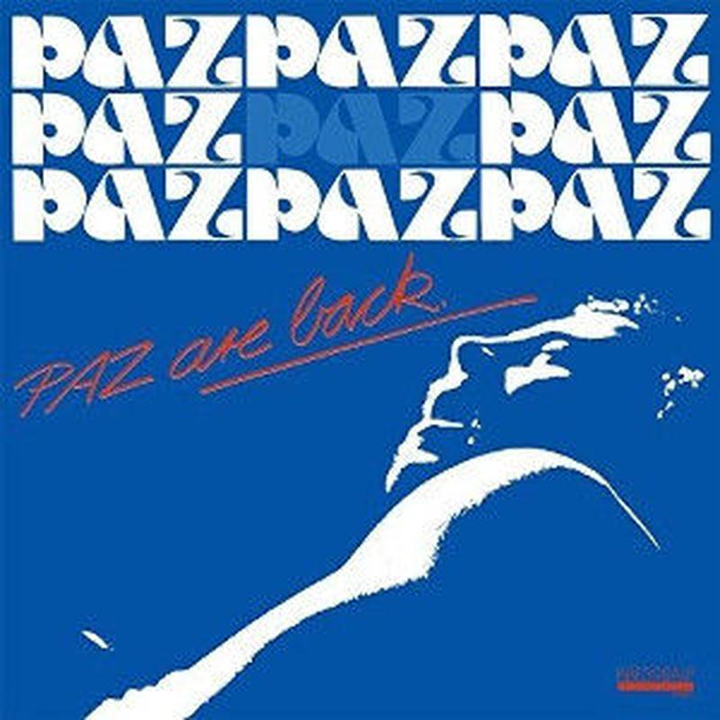 PAZ / Paz Are Back [LP]
