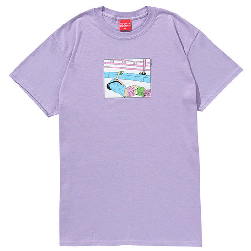 LET ME ALONE S/S TEE (ORCHID)