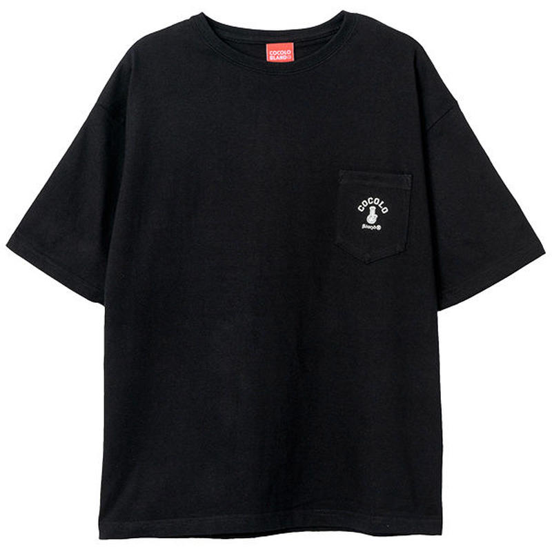 POCKET WIDE S/S (BLACK)