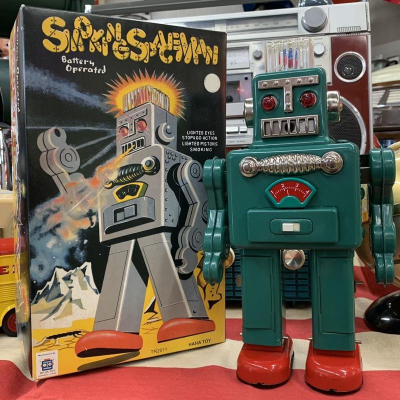 [toy] ブリキ スモーキングスペースマン