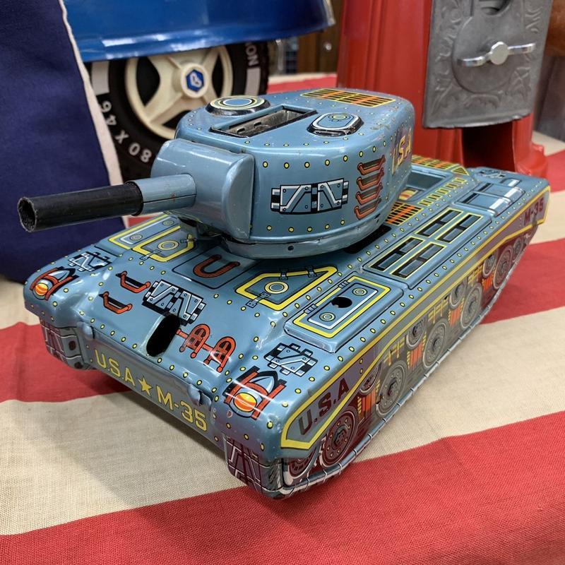 [toy car] ブリキ戦車 U.S.A. M-35