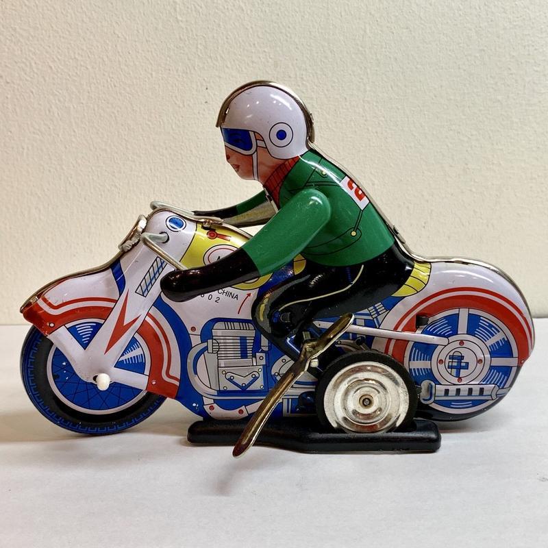 [toy] ブリキ モーターサイクル