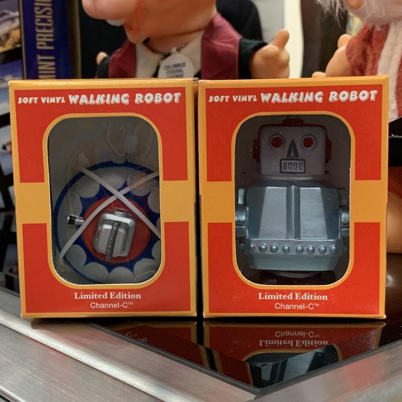 [Toy] ウォーキングミニロボット&UFO 2個セット