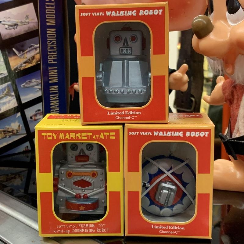 [Toy] ウォーキングミニロボット&UFO 3個セット