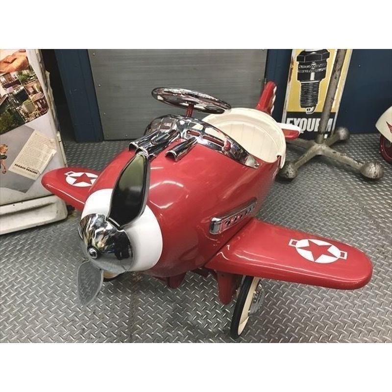 [Pedal car] 飛行機ペダルカー