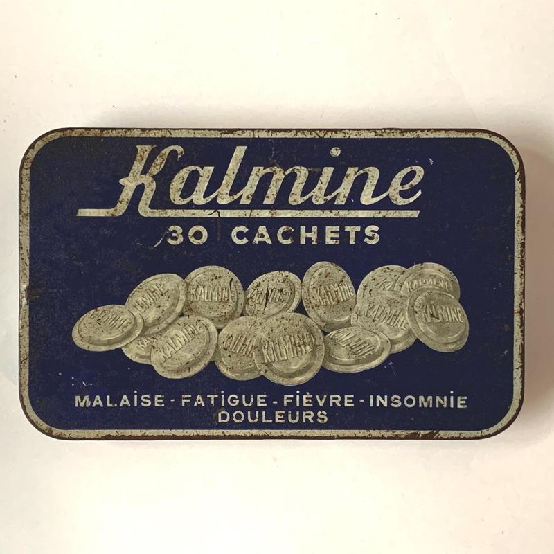 フランス/アンティーク TIN 缶/Kalmine