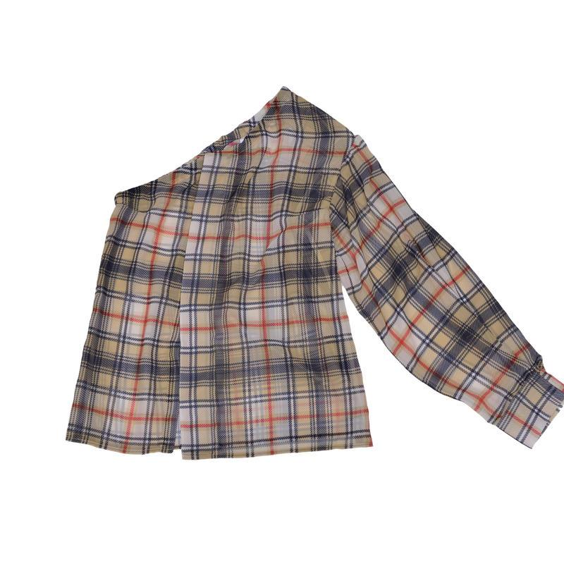 HIBIKI one shoulder blouse/BG