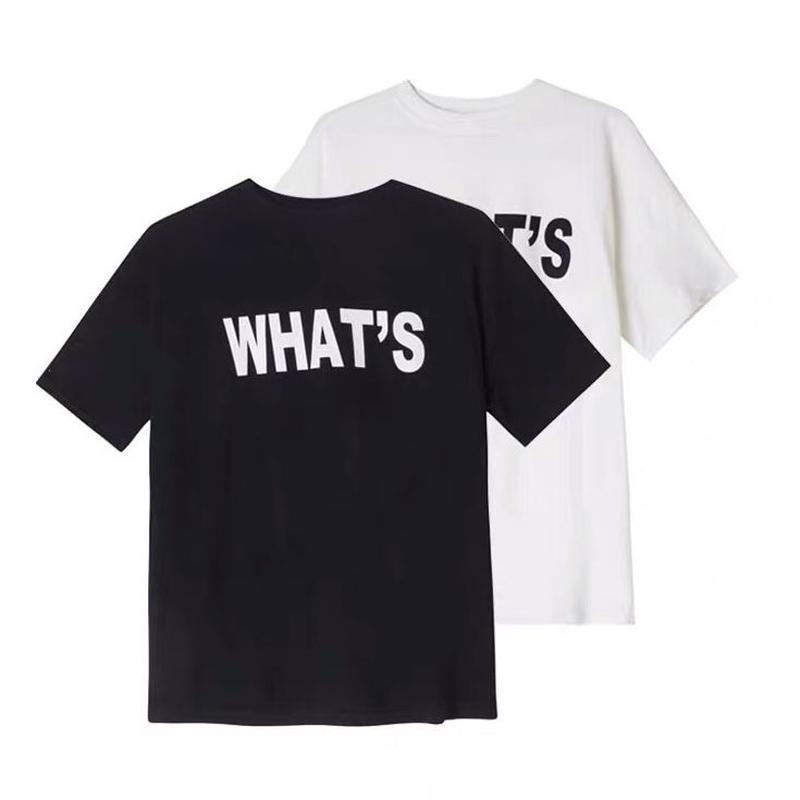 ★What's Tシャツ★ladies 2カラー