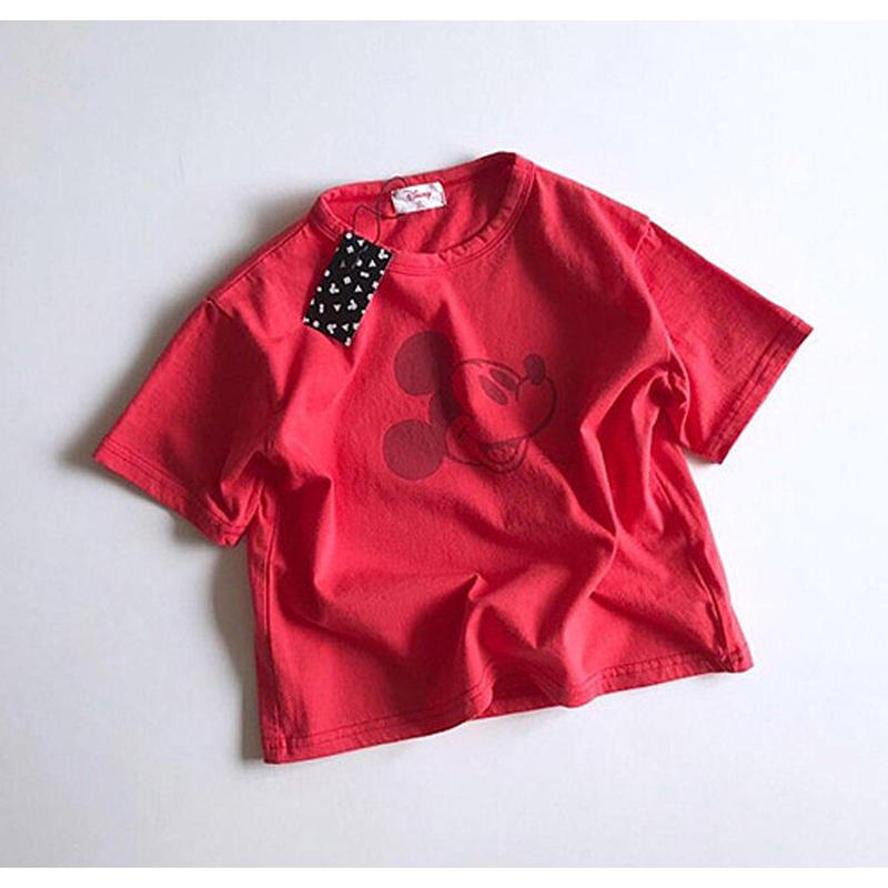 ★カラーミッキーTシャツ★4カラー(Disney公式商品)