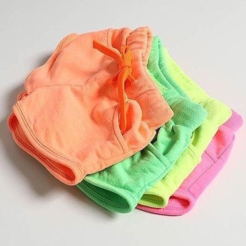 ★ネオンスウェットショートパンツ★4カラー