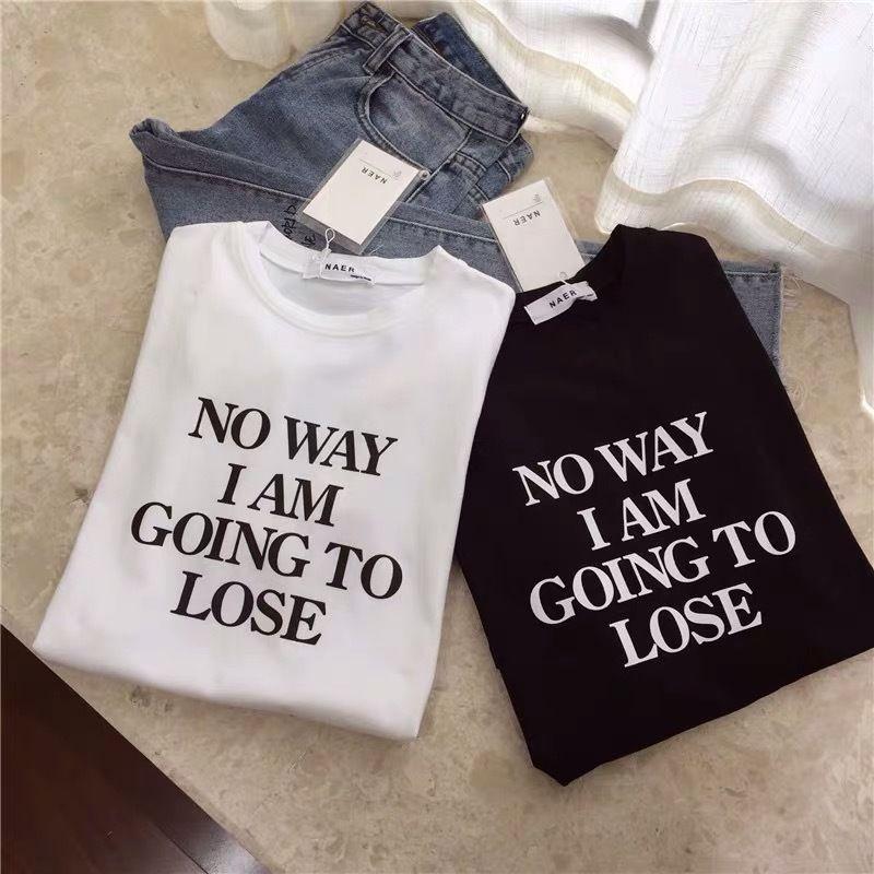 ★モノトーンレタリングTシャツ★ladies