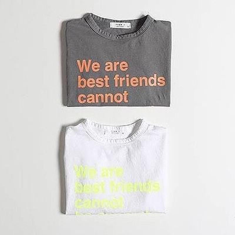 ★ネオンレタリングTシャツ★2カラー