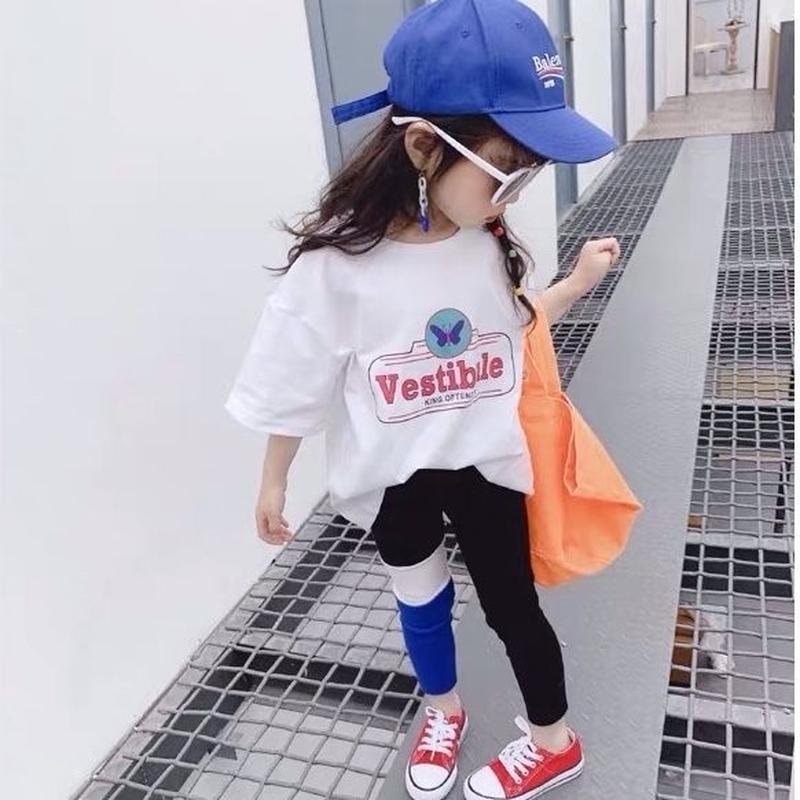 ★バイカラーデザインレギンス★2カラー