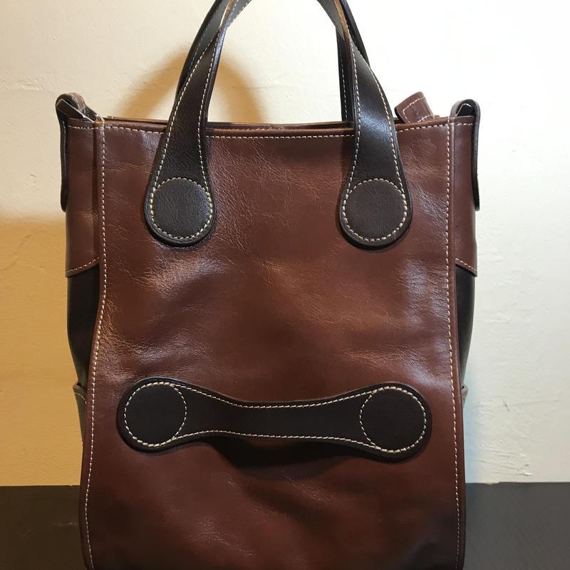 展示品処分SALE60%オフレザーハンドバッグ