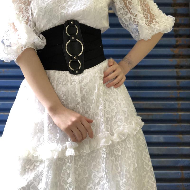 Banned apparel banded belt