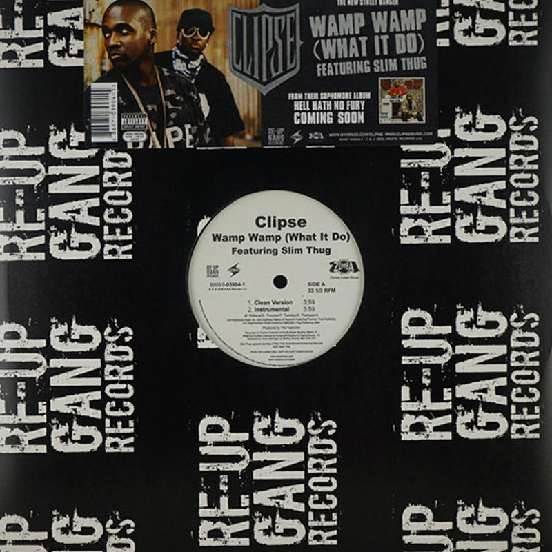 Clipse Featuring  Slim Thug//Wamp Wamp (What It Do)
