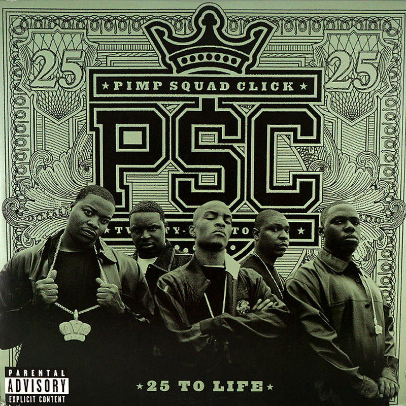 PSC // 25 TO LIFE (LP)