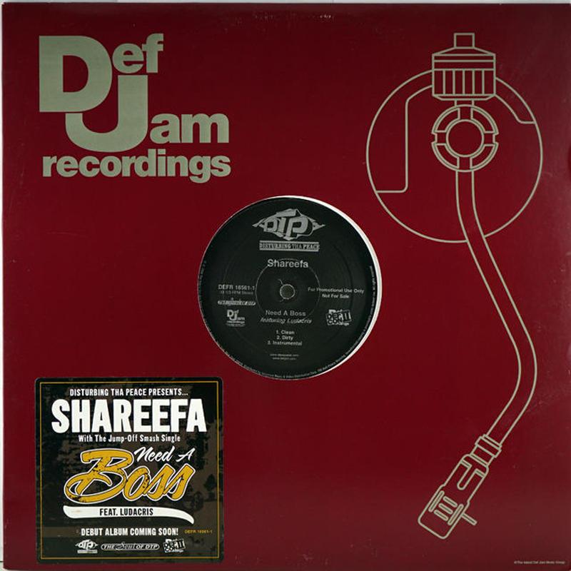Shareefa - Need A Boss