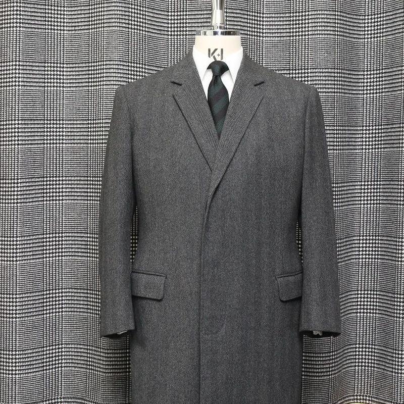 Chesterfield Coat/Grey Herringbone