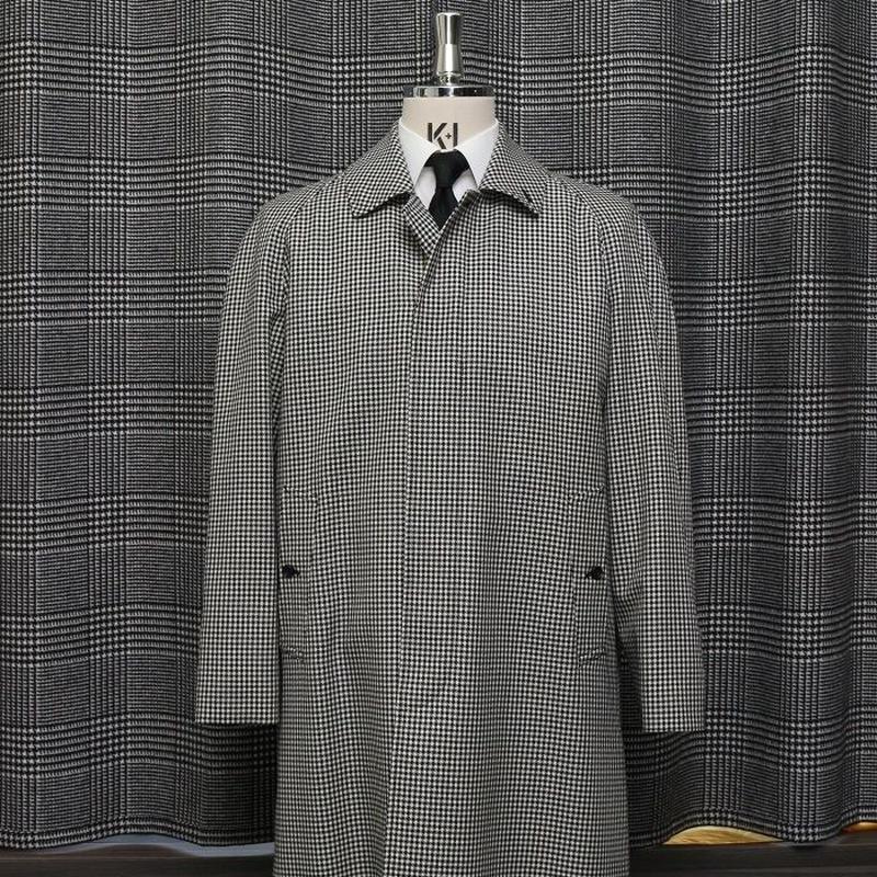 Bal Collar Coat/Sheperd's Check