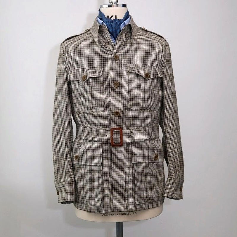 Safari Jacket/Beige Gun Club Check