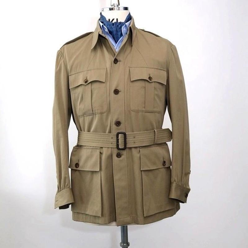 Safari Jacket/Khaki Cotton