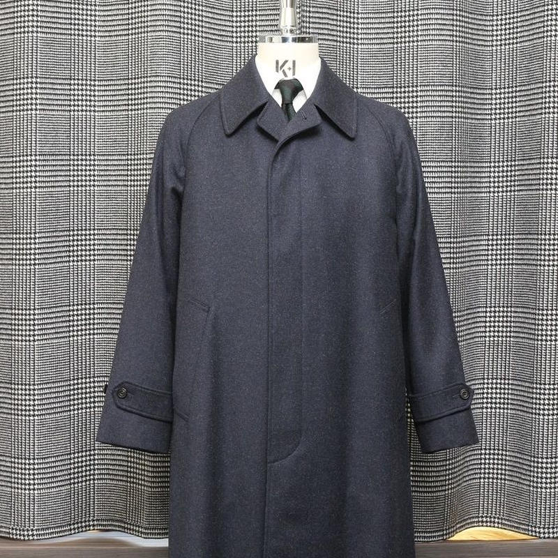 Classic Raglan Sleeve Coat/Covert Cloth
