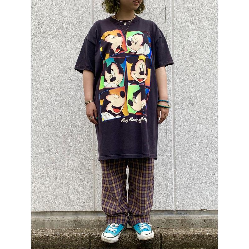 """1990's """"Mickey"""" Big T-Shirts"""