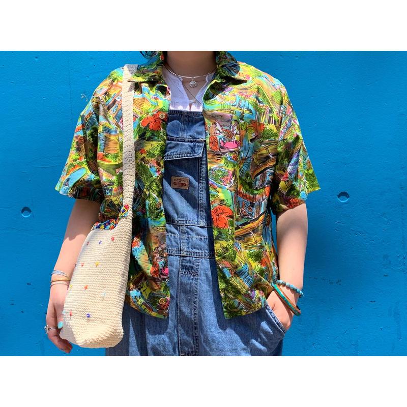 """1960's """"Island Casuals"""" Hawaiian Shirt"""